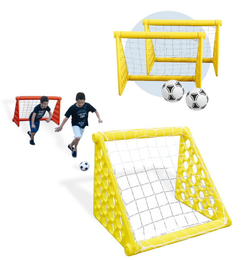 Kit gol desmontável (duas traves)