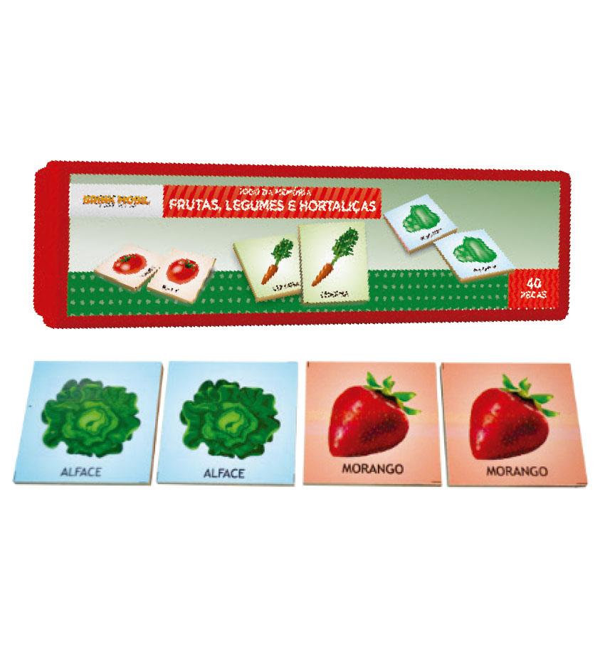Memória frutas, legumes e hortaliças