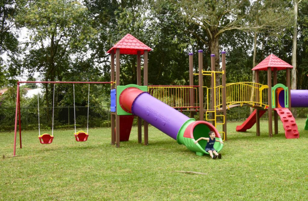Playgrounds Madeira Plástica