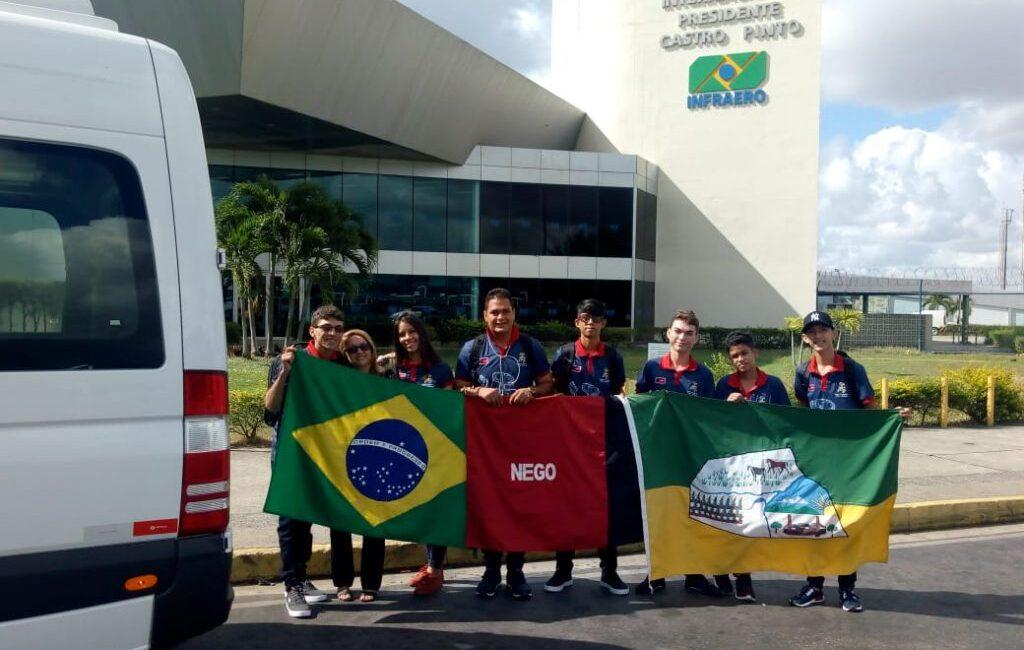Equipe de Cuitegi é campeã nacional de robótica e se classifica para etapa mundial.