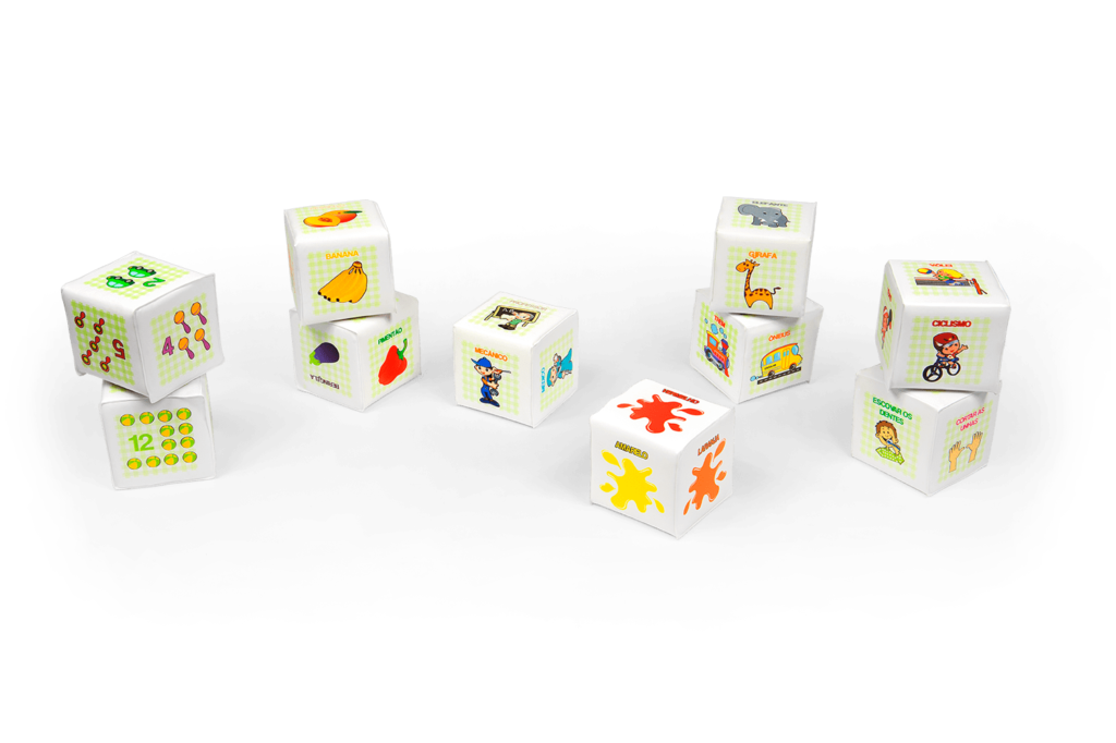 Conjunto de cubos educativos