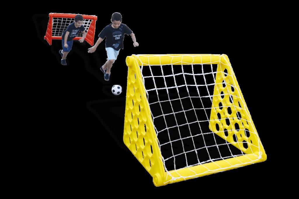 Kit gol desmontável duas traves