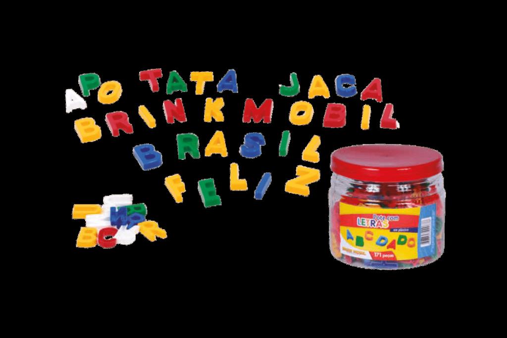 Pote com letras