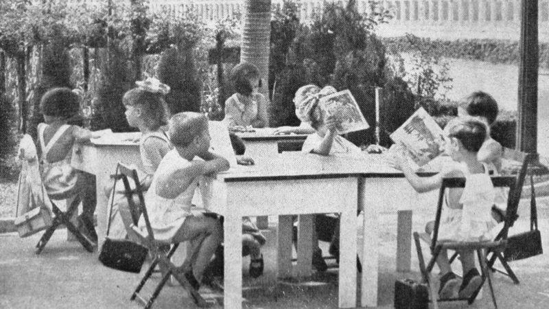 Escola ao ar livre